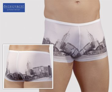 Svenjoyment Skyline Boxer Brief Underwear White 2130041