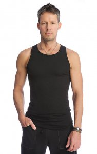 4-rth Sustain Tank Top T Shirt Black STA-B