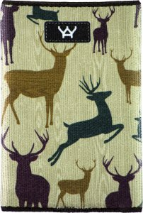YaYwallet Woody Reindeer Wallet 1093