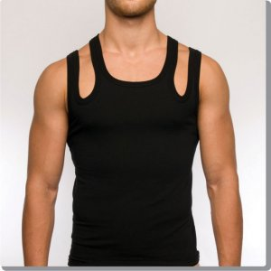 Modus Vivendi Ozon Exclusive Tank Top T Shirt Black 04031