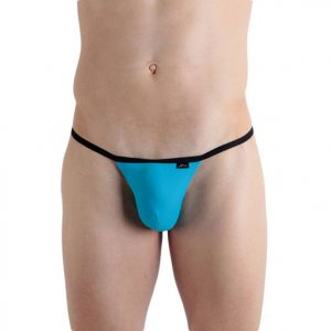 X-Ban Colormania Tanga Thong Underwear Blue