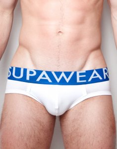 Supawear Dupa Brief Underwear White U20SDWHXS