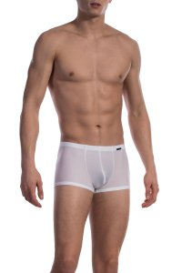 Olaf Benz RED 1600 Mini Pants Boxer Brief Underwear White 1-07400/1000