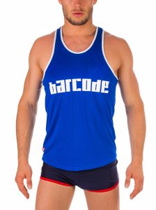 Barcode Berlin Likan Tank Top T Shirt Royal 91314-800