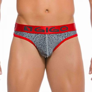 Gigo JASP GREY New G String Underwear G06086-GREY