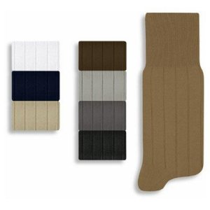 Lupo Wide Stripe Socks 1410