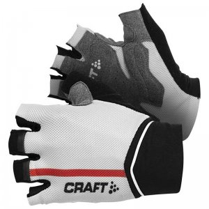 Craft Puncheur Gloves Black/Bright Red 1902594