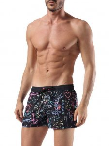 Diesel Electric Print Shorts Swimwear