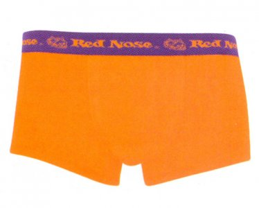 Red Nose Cotton/Elastane Trunk Boxer Brief Underwear Tangerine 320-02