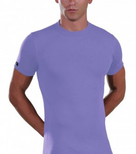 Lord Elastic Short Sleeved T Shirt Lavender 1200