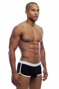 Go Softwear POP Retro Boxer Brief Underwear Black 2414