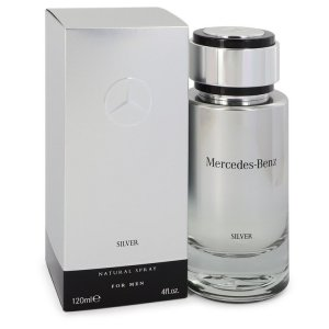 Mercedes Benz Silver Eau De Toilette Spray 4 oz / 118.29 mL ...