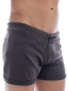 Go Softwear Overdyed Hiker Shorts Charcoal 4643