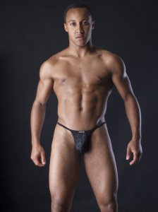 MANstore M253 Catena G String Underwear Black 2-08221/8000