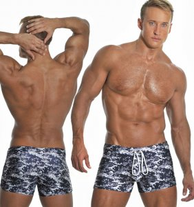 Falocco Collection Razzle Dazzle Trunk Swimwear
