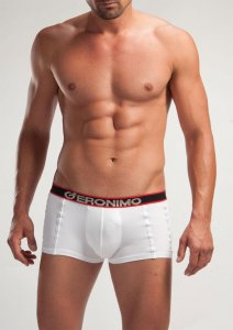 Geronimo Boxer Brief Underwear White 834252