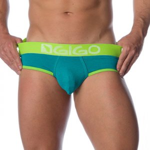 Gigo ROUGH GREEN Brief Underwear G01095