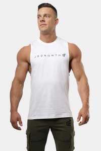 Jed North Apollo Tank Top T Shirt White JNTOP047