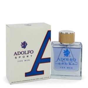 Adolfo Sport Eau De Toilette Spray 3.4 oz / 100.55 mL Men's ...