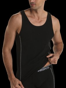 Punto Blanco Attention Tank Top T Shirt Black 5370520