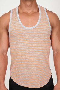 Pistol Pete Nuvo Tank Top T Shirt Orange TK197-915