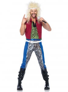 Leg Avenue 80's Rock God Costume 85323