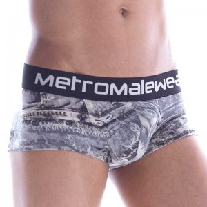 MIIW Denim Short Boxer Brief Underwear Grey 2026-47