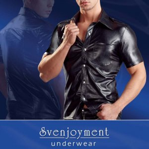 Clearance Svenjoyment Uniform Press Studs Short Sleeved Shirt 2160455-1700