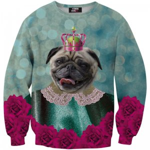Mr. Gugu & Miss Go King Of Pugs Unisex Sweater S-PC542