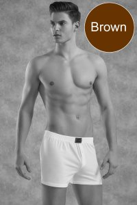 Doreanse Homey Loose Boxer Shorts Underwear Brown 1511
