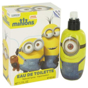 Minions Yellow Eau De Toilette Spray 1.7 oz / 50.27 mL Men's...