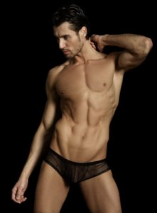 MaleBasics Mesh Bodyshort Brief Underwear Black MBL21