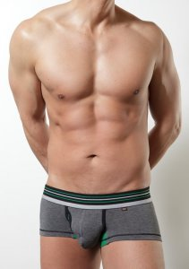 Toot Smooth Rayon Trunk Underwear Charcoal CB543384
