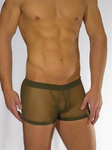 Buffedbod Custom Underwear Sheer Contour Boxer Brief UN009 [Pick Color]