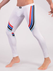 Barcode Berlin Stanley Tights Leggings Pants White 91481-200