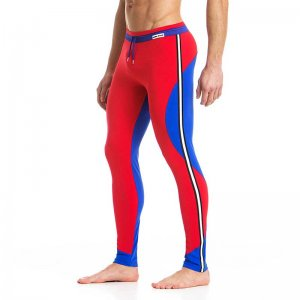 Modus Vivendi Dali Meggings Pants Red/Blue 12761