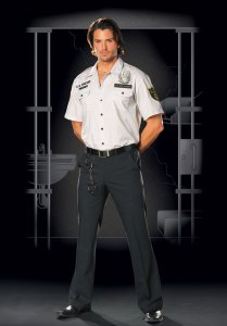 Dreamguy Prison Guard Men's Costume 4479
