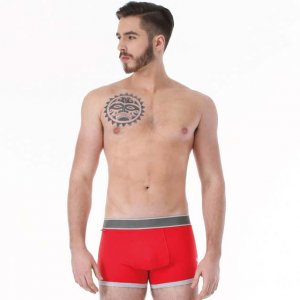 Rock N Fresh Johnny Boxer Brief Underwear Red