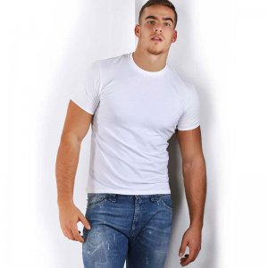 Roberto Lucca Slim Fit Short Sleeved T Shirt White 80218-00010