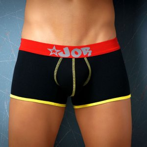 Jor RACING Boxer Underwear Black
