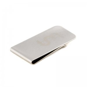 Ulterior Motive UM$ Money Clip Silver