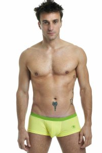 L'Homme Invisible Candy Hipster Boxer Brief Underwear Lemon MY39H-SEN-S45
