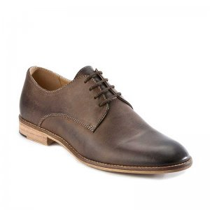 Croft Lee Shoes Coffee FLP624