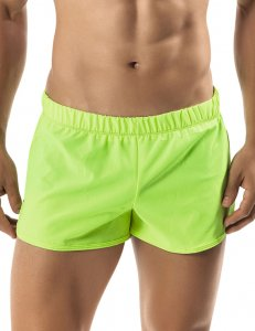 Clever Retro Shorts Green 0598
