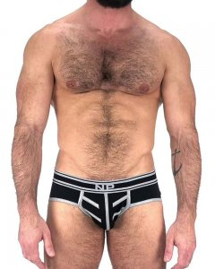 Nasty Pig Driller Brief Underwear Black 5597
