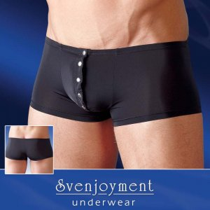 Svenjoyment Press Studs Boxer Brief Underwear Black 2131650