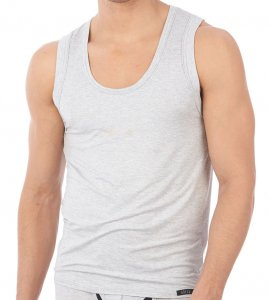 Gregg Homme HEAT Tank Top T Shirt Light Grey 140502