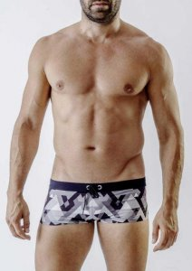 Geronimo Square Cut Trunk Swimwear 1720B2-2