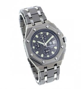 Smith & Wesson Titanium Chronograph Watch Grey SWW-10