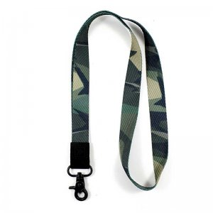 Thread Wallets Camo Lanyard